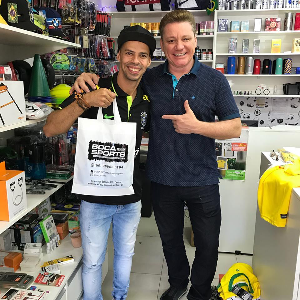 93fde7e13 No mês de aniversário da  Boca Sports  quem ganha o presente é o ...
